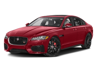 Italian Racing Red Metallic 2017 Jaguar XF Pictures XF Sedan 4D S AWD V6 Supercharged photos front view