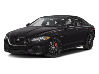 Ultimate Black Metallic 2017 Jaguar XF Pictures XF Sedan 4D S AWD V6 Supercharged photos front view