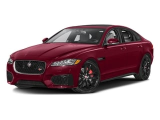 Odyssey Red Metallic 2017 Jaguar XF Pictures XF Sedan 4D 35t AWD V6 photos front view