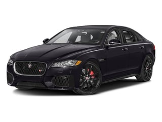 Black Berry 2017 Jaguar XF Pictures XF Sedan 4D S AWD V6 Supercharged photos front view