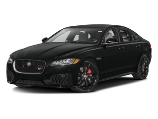 Cosmic Black 2017 Jaguar XF Pictures XF Sedan 4D S AWD V6 Supercharged photos front view