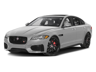 Gallum Silver 2017 Jaguar XF Pictures XF Sedan 4D S AWD V6 Supercharged photos front view