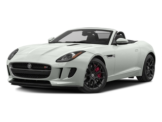 Polaris White 2017 Jaguar F-TYPE Pictures F-TYPE Convertible Manual S photos front view