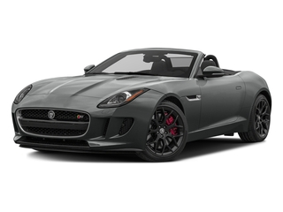Ammonite Grey Metallic 2017 Jaguar F-TYPE Pictures F-TYPE Convertible Manual S photos front view