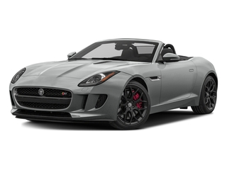 Rhodium Silver Metallic 2017 Jaguar F-TYPE Pictures F-TYPE Convertible Manual S photos front view
