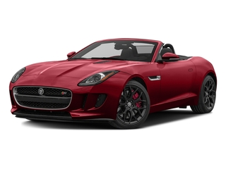 Italian Racing Red Metallic 2017 Jaguar F-TYPE Pictures F-TYPE Convertible Manual S photos front view