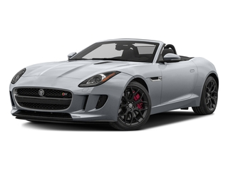 Glacier White Metallic 2017 Jaguar F-TYPE Pictures F-TYPE Convertible Manual S photos front view