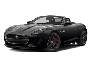 Ebony Black 2017 Jaguar F-TYPE Pictures F-TYPE Convertible Manual S photos front view