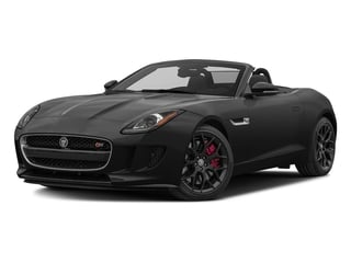 Storm Grey 2017 Jaguar F-TYPE Pictures F-TYPE Convertible Manual S photos front view
