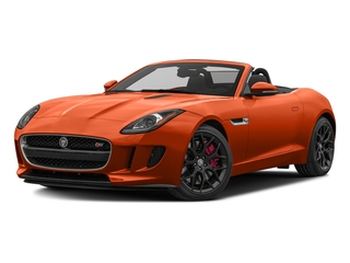 Firesand Metallic 2017 Jaguar F-TYPE Pictures F-TYPE Convertible Manual S photos front view