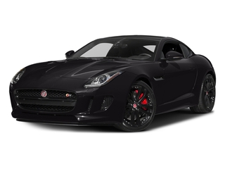 Ultimate Black Metallic 2017 Jaguar F-TYPE Pictures F-TYPE Coupe 2D S V6 photos front view