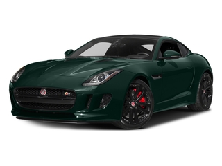 British Racing Green Metallic 2017 Jaguar F-TYPE Pictures F-TYPE Coupe 2D S V6 photos front view