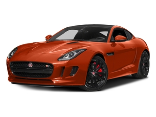 Firesand Metallic 2017 Jaguar F-TYPE Pictures F-TYPE Coupe 2D S V6 photos front view