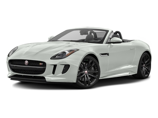 Polaris White 2017 Jaguar F-TYPE Pictures F-TYPE Convertible 2D S AWD V6 photos front view