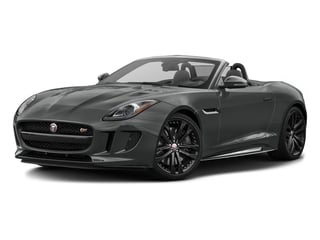 Ammonite Grey Metallic 2017 Jaguar F-TYPE Pictures F-TYPE Convertible 2D S AWD V6 photos front view
