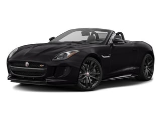 Ultimate Black Metallic 2017 Jaguar F-TYPE Pictures F-TYPE Convertible 2D S AWD V6 photos front view