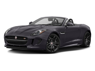 Black Berry 2017 Jaguar F-TYPE Pictures F-TYPE Convertible 2D S AWD V6 photos front view