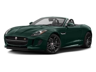 British Racing Green Metallic 2017 Jaguar F-TYPE Pictures F-TYPE Convertible 2D S AWD V6 photos front view