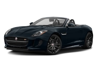 Dark Sapphire Metallic 2017 Jaguar F-TYPE Pictures F-TYPE Convertible 2D S AWD V6 photos front view