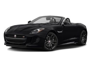 Ebony Black 2017 Jaguar F-TYPE Pictures F-TYPE Convertible 2D S AWD V6 photos front view