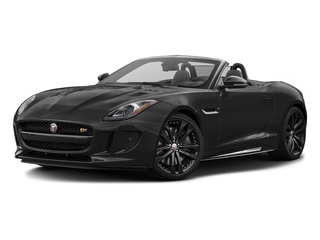 Storm Grey 2017 Jaguar F-TYPE Pictures F-TYPE Convertible 2D S AWD V6 photos front view