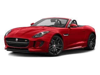 Caldera Red 2017 Jaguar F-TYPE Pictures F-TYPE Convertible 2D S AWD V6 photos front view
