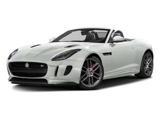 Polaris White 2017 Jaguar F-TYPE Pictures F-TYPE Convertible 2D R AWD V8 photos front view