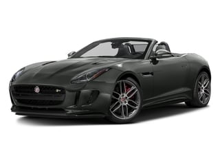 Ammonite Grey Metallic 2017 Jaguar F-TYPE Pictures F-TYPE Convertible 2D R AWD V8 photos front view