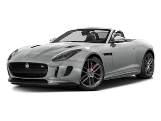 Rhodium Silver Metallic 2017 Jaguar F-TYPE Pictures F-TYPE Convertible 2D R AWD V8 photos front view