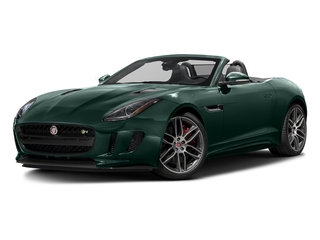 British Racing Green Metallic 2017 Jaguar F-TYPE Pictures F-TYPE Convertible 2D R AWD V8 photos front view
