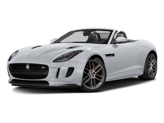 Glacier White Metallic 2017 Jaguar F-TYPE Pictures F-TYPE Convertible 2D R AWD V8 photos front view