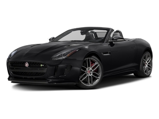 Ebony Black 2017 Jaguar F-TYPE Pictures F-TYPE Convertible 2D R AWD V8 photos front view