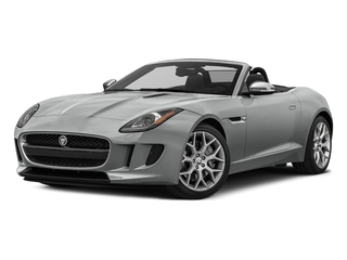 Rhodium Silver Metallic 2017 Jaguar F-TYPE Pictures F-TYPE Convertible 2D V6 photos front view