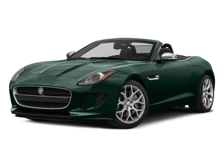 British Racing Green Metallic 2017 Jaguar F-TYPE Pictures F-TYPE Convertible 2D Premium V6 photos front view