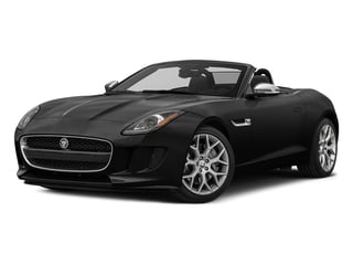 Storm Grey 2017 Jaguar F-TYPE Pictures F-TYPE Convertible 2D V6 photos front view