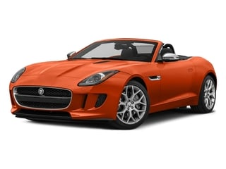 Firesand Metallic 2017 Jaguar F-TYPE Pictures F-TYPE Convertible 2D Premium V6 photos front view