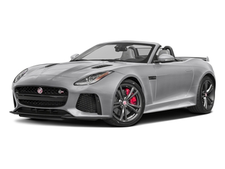 Glacier White Metallic 2017 Jaguar F-TYPE Pictures F-TYPE Convertible 2D SVR AWD V8 photos front view