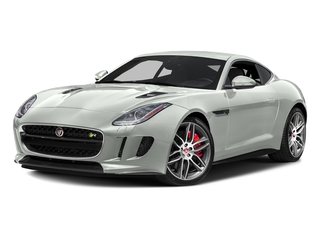 Polaris White 2017 Jaguar F-TYPE Pictures F-TYPE Coupe 2D R AWD V8 photos front view