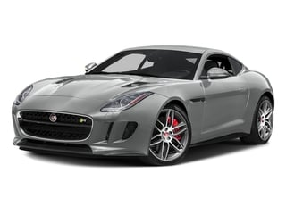 Rhodium Silver Metallic 2017 Jaguar F-TYPE Pictures F-TYPE Coupe 2D R AWD V8 photos front view