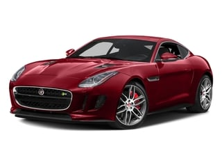 Italian Racing Red Metallic 2017 Jaguar F-TYPE Pictures F-TYPE Coupe 2D R AWD V8 photos front view