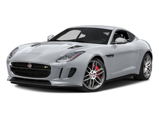 Glacier White Metallic 2017 Jaguar F-TYPE Pictures F-TYPE Coupe 2D R AWD V8 photos front view