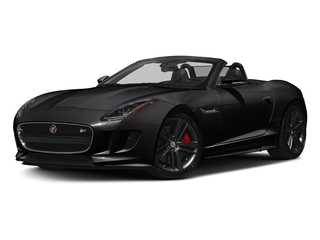 Ultimate Black Metallic 2017 Jaguar F-TYPE Pictures F-TYPE Conv 2D S British Design Edition AWD photos front view