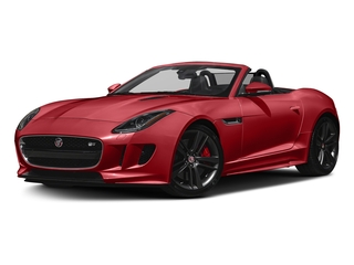 Caldera Red 2017 Jaguar F-TYPE Pictures F-TYPE Conv 2D S British Design Edition AWD photos front view