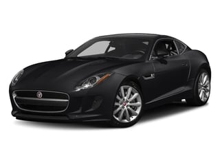 Ebony Black 2017 Jaguar F-TYPE Pictures F-TYPE Coupe Auto photos front view