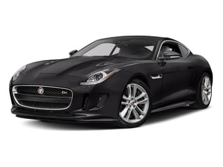 Ultimate Black Metallic 2017 Jaguar F-TYPE Pictures F-TYPE Coupe Auto S AWD photos front view