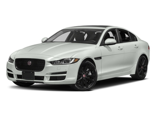Polaris White 2017 Jaguar XE Pictures XE Sedan 4D 25t Premium I4 Turbo photos front view