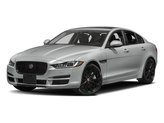 Rhodium Silver Metallic 2017 Jaguar XE Pictures XE Sedan 4D 25t Premium I4 Turbo photos front view