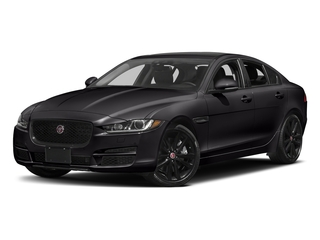 Ultimate Black Metallic 2017 Jaguar XE Pictures XE Sedan 4D 25t Premium I4 Turbo photos front view