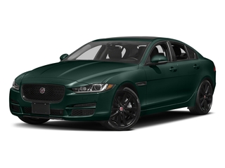 British Racing Green Metallic 2017 Jaguar XE Pictures XE Sedan 4D 25t Premium I4 Turbo photos front view