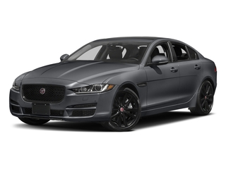 Tempest Grey 2017 Jaguar XE Pictures XE Sedan 4D 25t Premium I4 Turbo photos front view